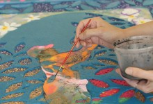 A Visible Tapestry: In the Studio with Lina Puerta