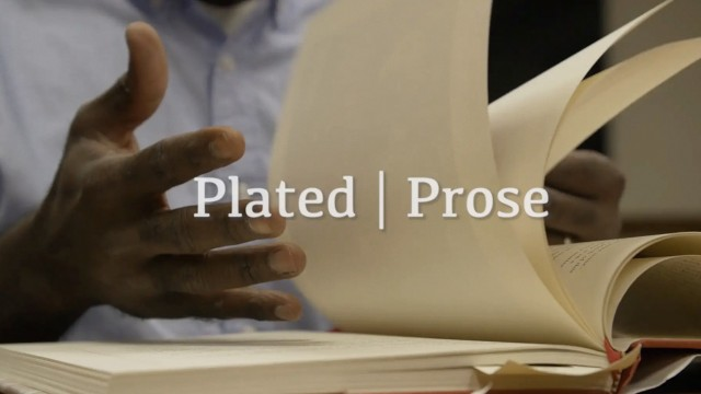 Plated Prose